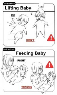 Shingeki no Kyojin - Guide to Raising an Eren (doujinshi)