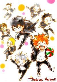 Haikyuu!! - Thank you, Anikyu! (Doujinshi)
