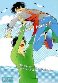 Shingeki no Kyojin dj - Happy Birthday My Sweet Honey!!