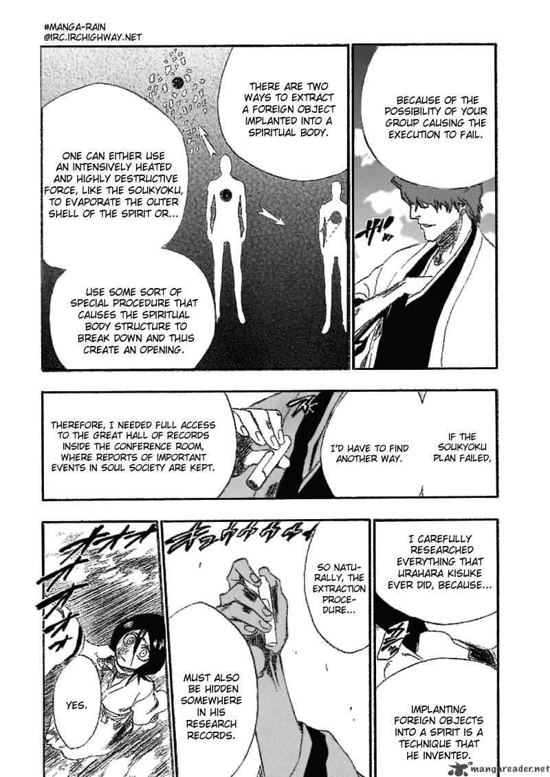 Bleach 176 End Of Hypnosis 8 The Transfixion