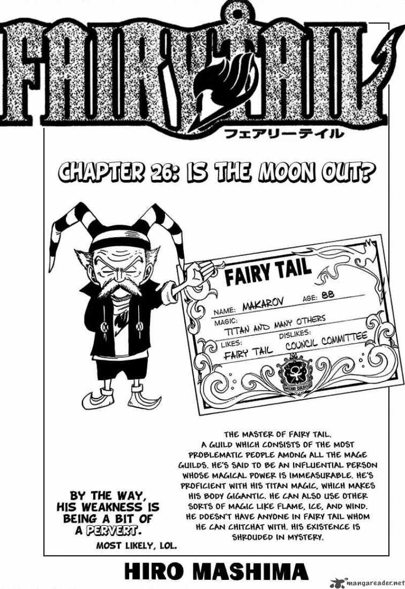 Fairy Tail Ch 26