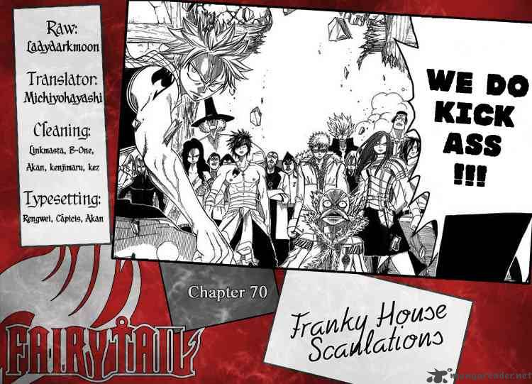 Fairy Tail - Chapter 70