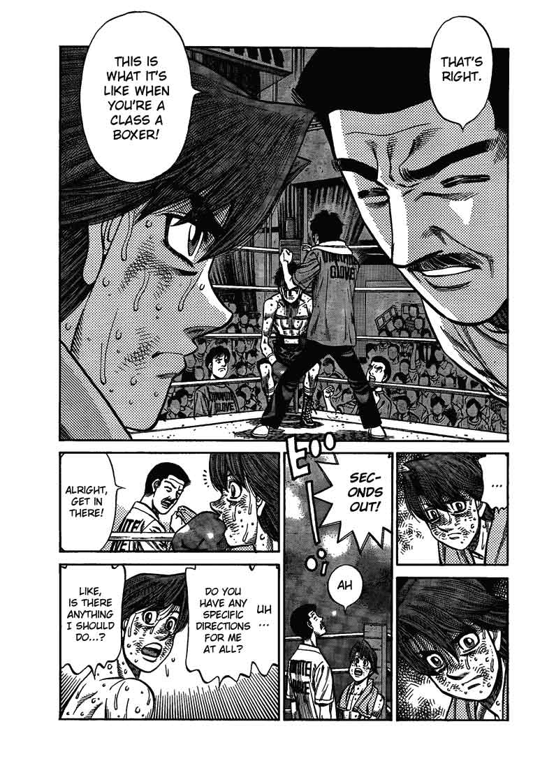 Hajime no Ippo - Chapter 906