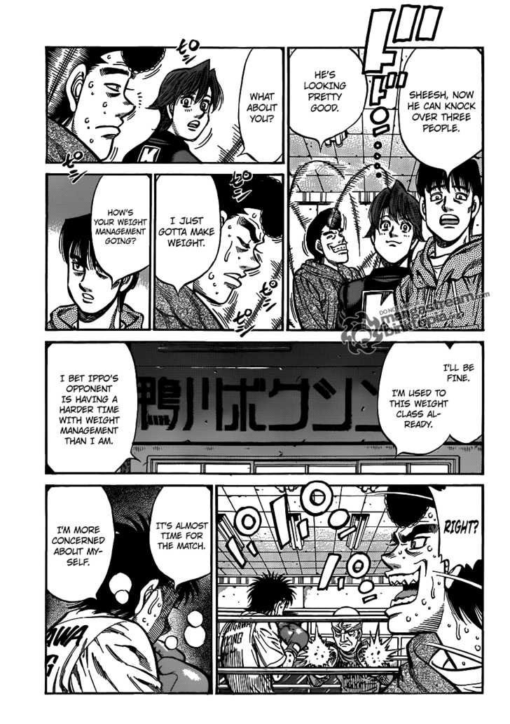 Hajime no Ippo - Chapter 925