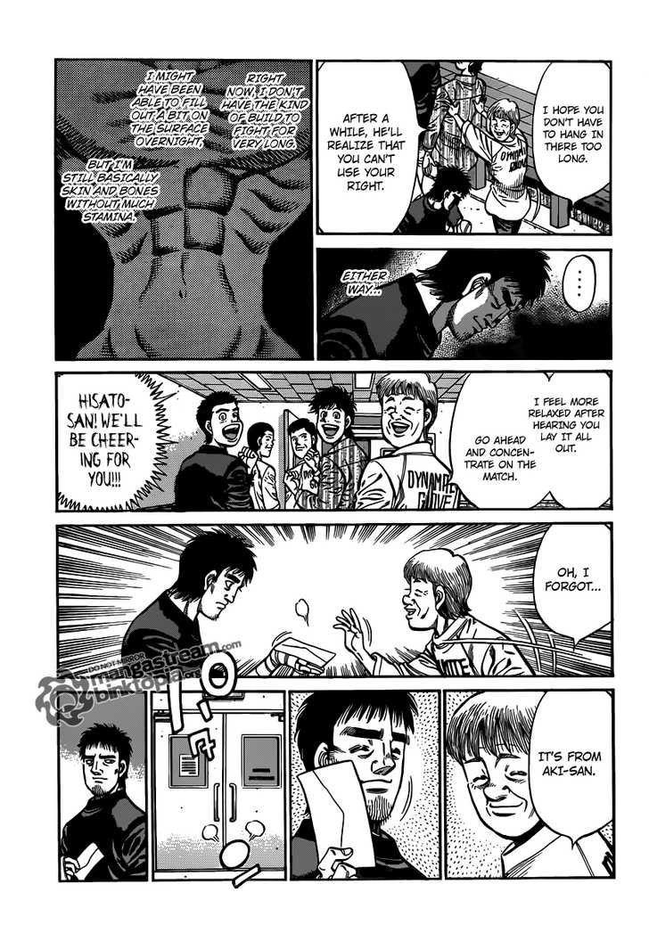 Hajime no Ippo - Chapter 930
